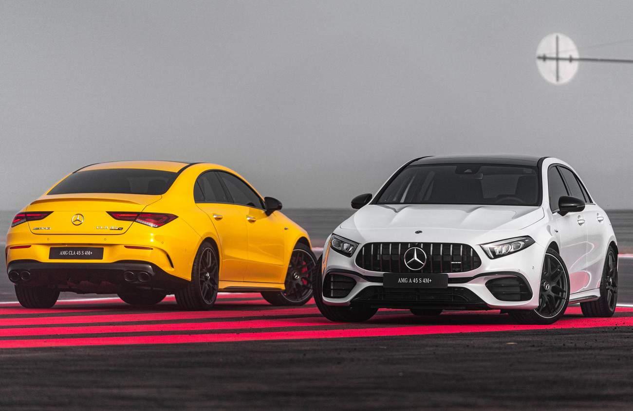 Mercedes-AMG A 45 e CLA 45 desembarcam com o motor mais potente do mundo
