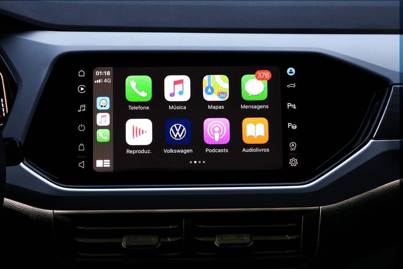 VW Play multimídia do Volkswagen T-Cross 2021