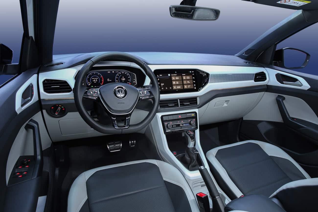 Interior do Volkswagen T-Cross 2021