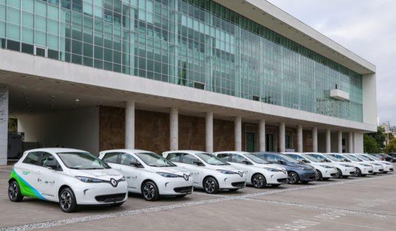 Renault Zoe será compartilhado por funcionários do governo do Paraná
