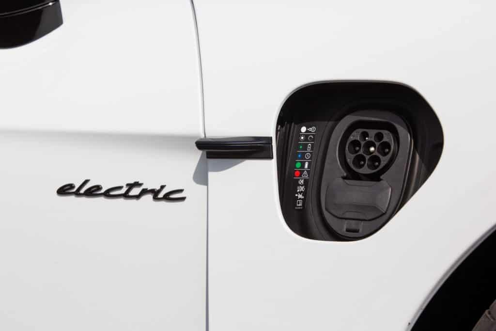 Conectar para recarga do Porsche Taycan