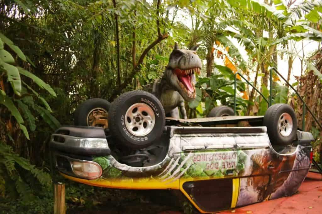 Vale dos Dinossauros no Drems Parks em Foz do Iguaçu