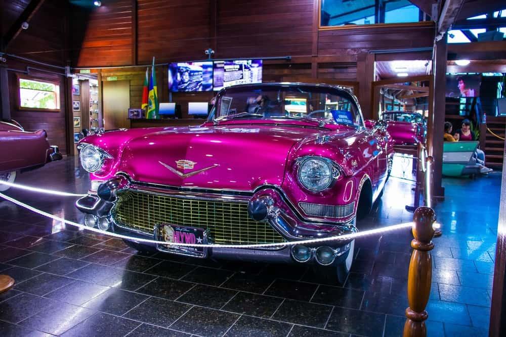 Museu de carros clássicos em Foz do Iguaçu