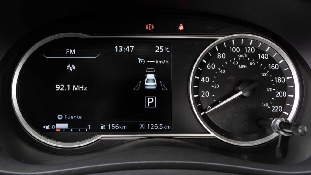 Painel digital do novo Nissan Versa