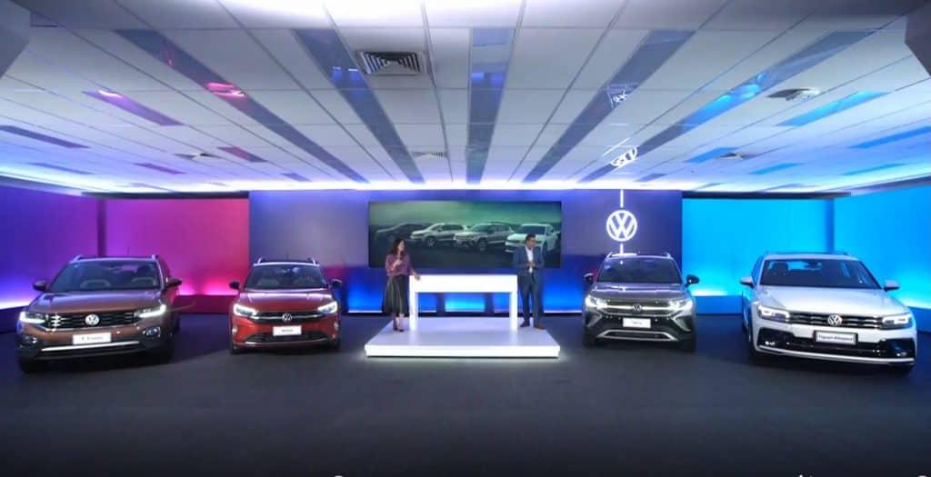 Live de apresentação no Brasil do Volkswagen Taos