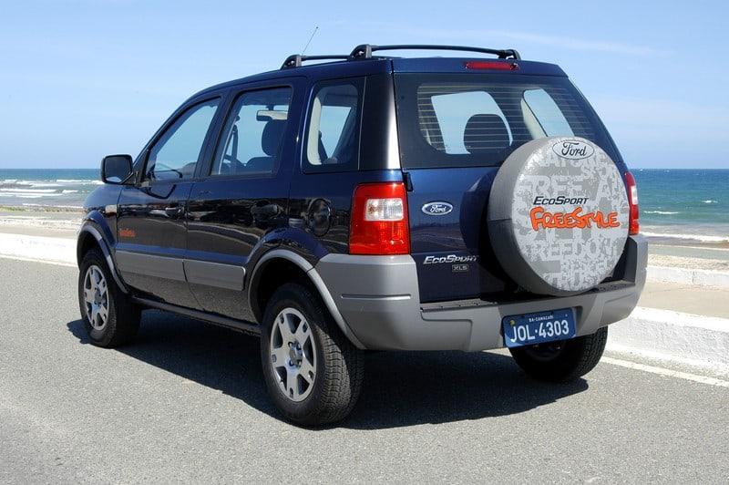 Primeira geração Ford Ecosport na versão Freestyle.