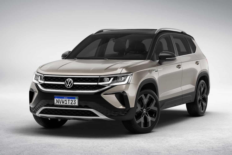 Volkswagen Taos é um SUV premium médio