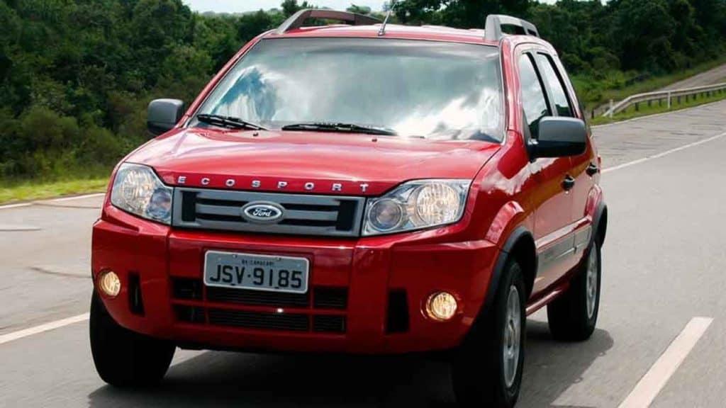 Ford Ecosport com a atualização de 2010