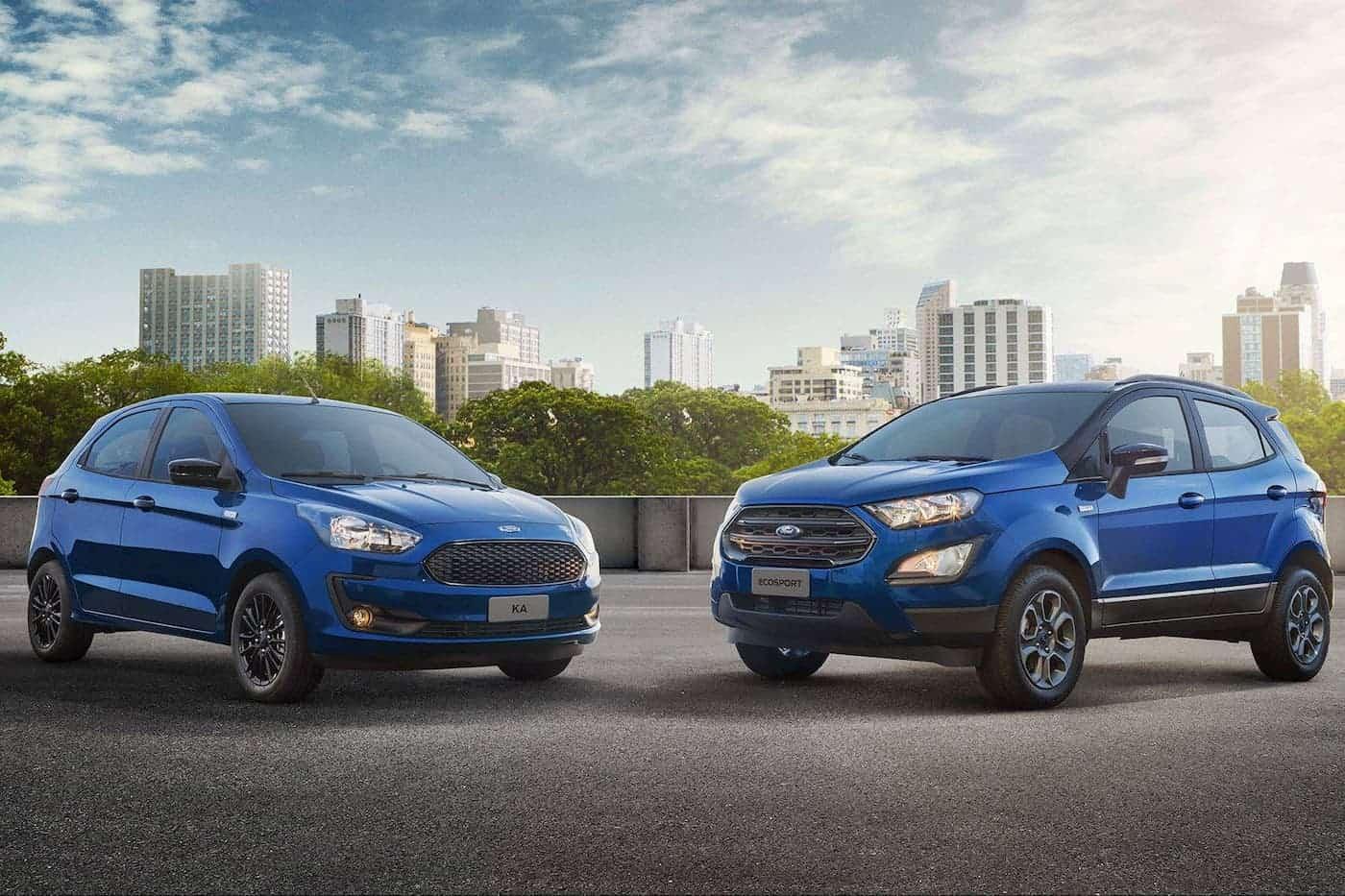 Ford Ka e Ecosport série 100 anos