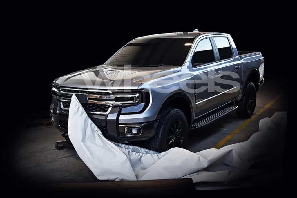Projeção da nova geração da Ford Ranger