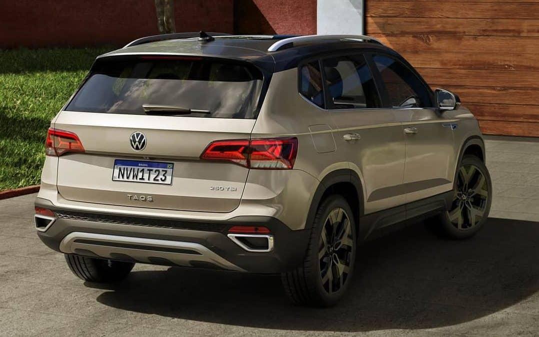Volkswagen Taos, SUV médio que estreia em 2021 no Brasil