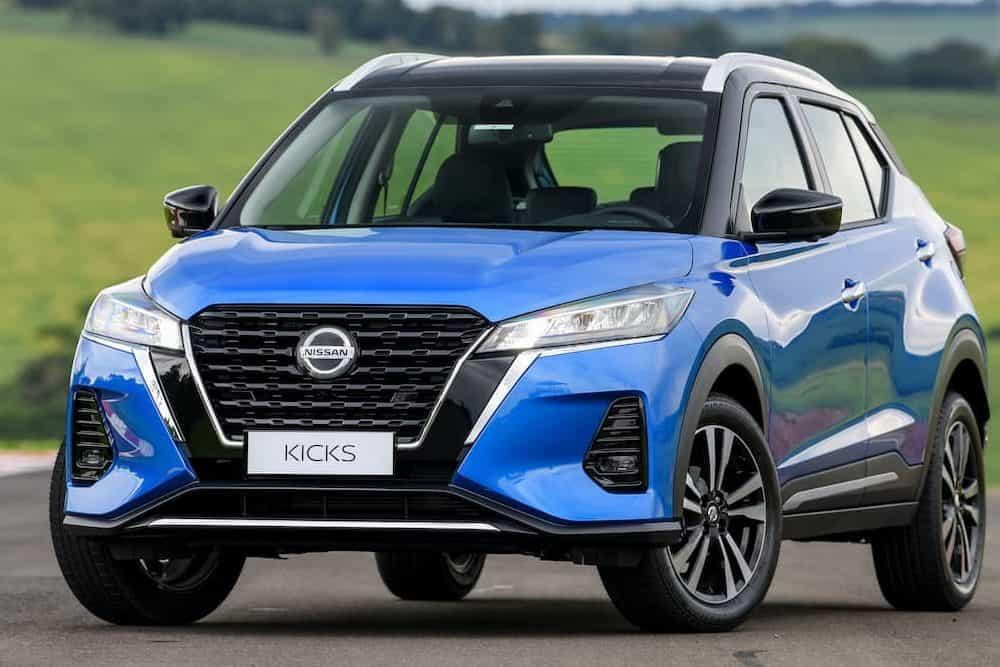 Nissan Kicks 2022 de frente