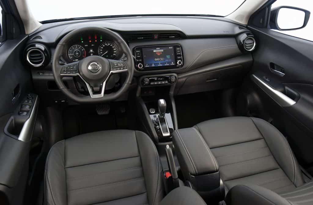 Nissan Kicks 2022 interior
