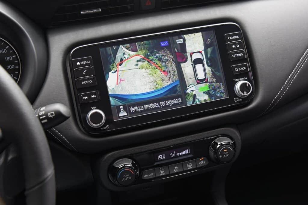 Câmera 360 graus do novo Nissan Kicks