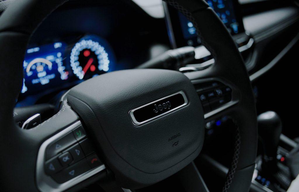 Novo volante do Jeep Compass 2022