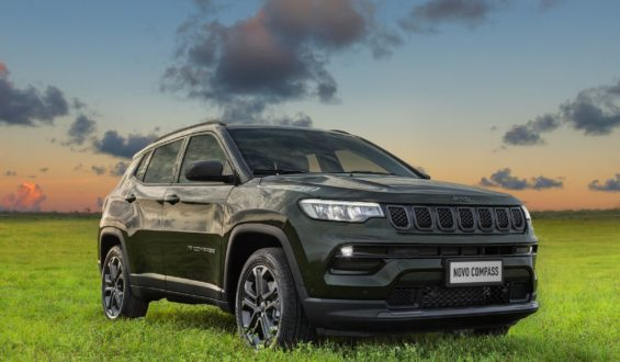 Jeep abre pré-venda do novo Compass com o inédito motor 1.3 turboflex, de 185 cv